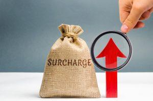 Cash Surcharge