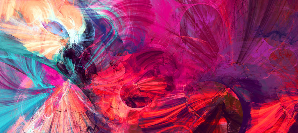 bright artistic splashes Abstract painting color texture