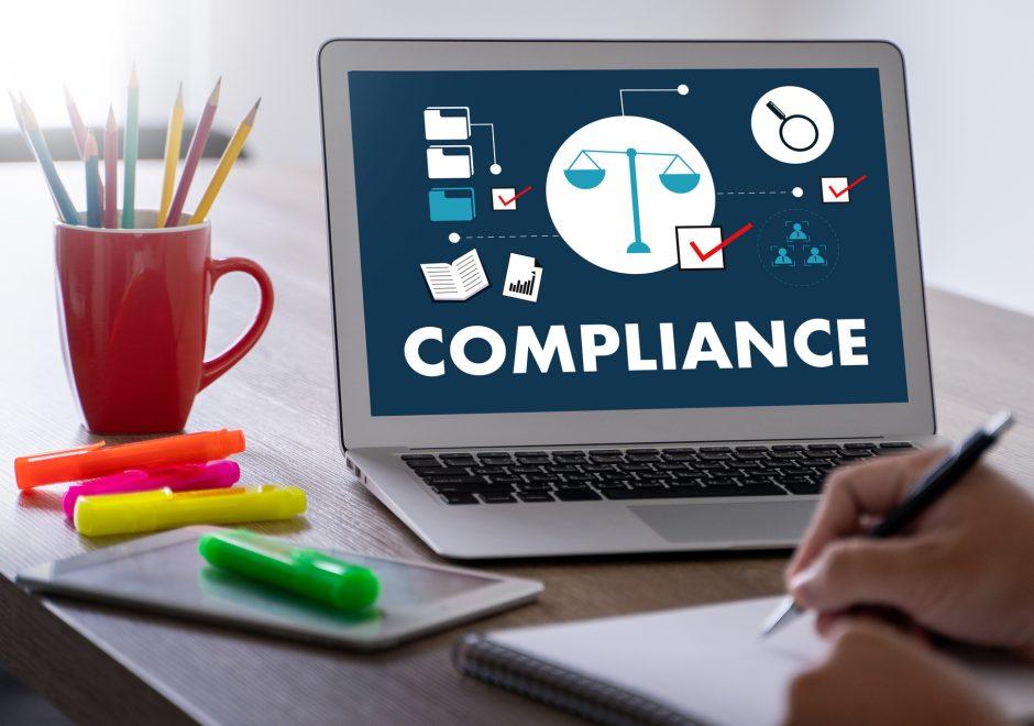 compliance in laptop